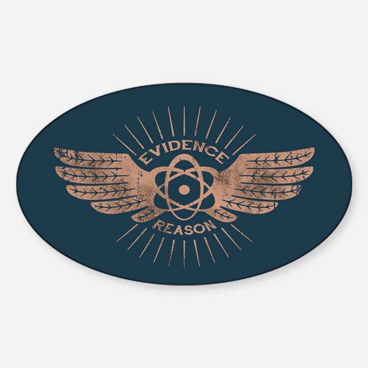 Winged Atom Decal