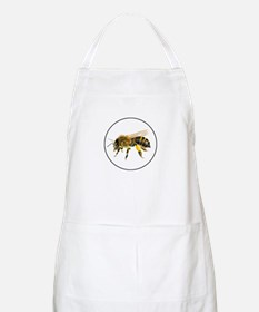 Honey bee watercolour / watercolor painting Apron