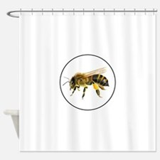 Honey bee watercolour / watercolor painting Shower