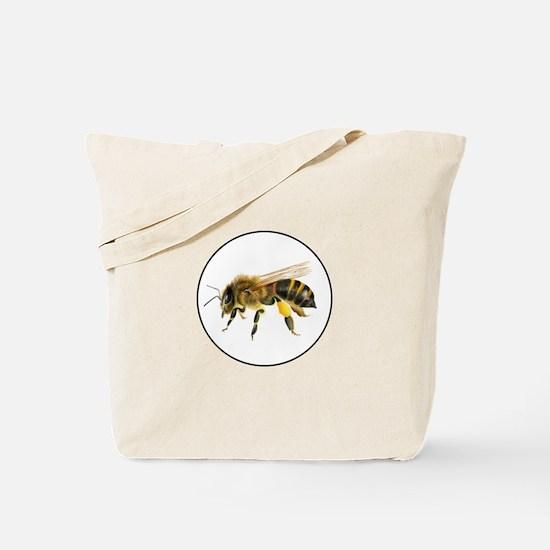 Honey bee watercolour / watercolor painting Tote B