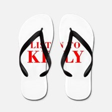 LISTEN TO KELLY-Bod red 300 Flip Flops