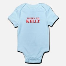 LISTEN TO KELLY-Bod red 300 Body Suit