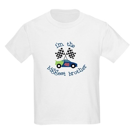 biggest brother race Kids Light T-Shirt