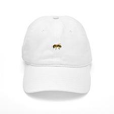 Honey bee watercolour / watercolor painting Baseball Cap