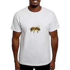 Honey bee watercolour / watercolor painting T-Shir