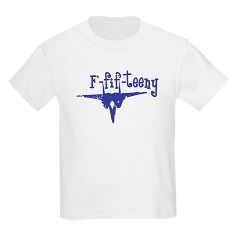 F-fif-teeny blue Kids Light T-Shirt