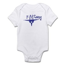 F-fif-teeny blue Infant Bodysuit