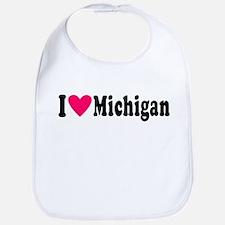 I love Michigan Bib