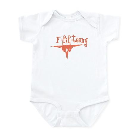 F-fif-teeny pink Infant Bodysuit