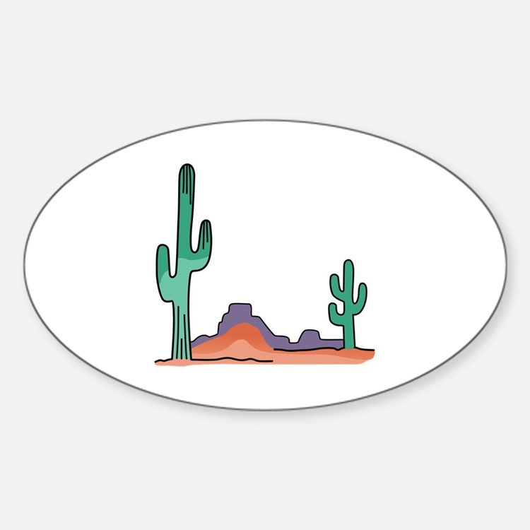 DESERT SCENE Decal