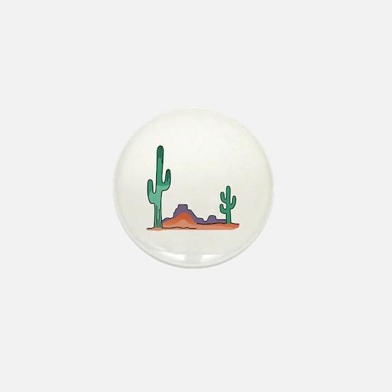 DESERT SCENE Mini Button