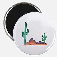 DESERT SCENE Magnets