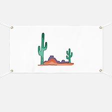 DESERT SCENE Banner