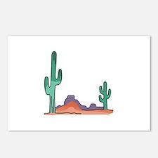DESERT SCENE Postcards (Package of 8)