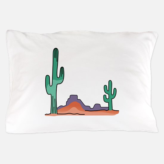 DESERT SCENE Pillow Case
