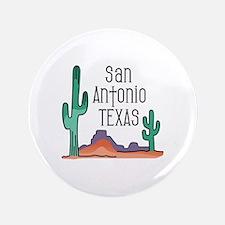 "San Antonio Texas 3.5"" Button"