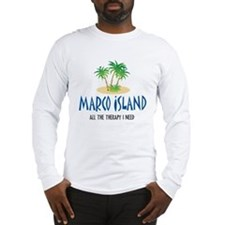 Marco Island Therapy - Long Sleeve T-Shirt