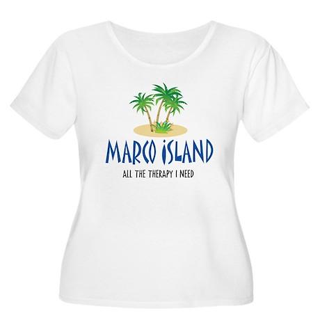 Marco Island Therapy - Women's Plus Size Scoop Ne
