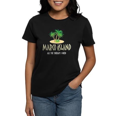 Marco Island Therapy - Women's Dark T-Shirt
