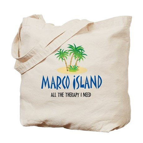 Marco Island Therapy - Tote or Beach Bag