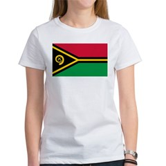 Vanuatu Flag Women's T-Shirt