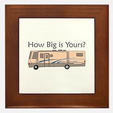 How Big Is Yours? Framed Tile