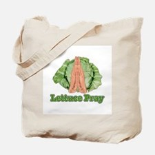 Lettuce Pray Tote Bag