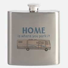 Home Is Where You Park It! Flask
