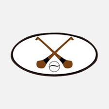 HURLING BATS AND BALL Patch