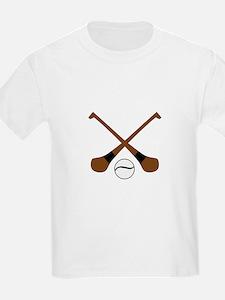 HURLING BATS AND BALL T-Shirt