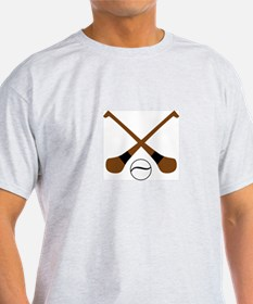 HURLING BATS AND BALL T-Shirt