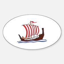 VIKING LONG SHIP Decal
