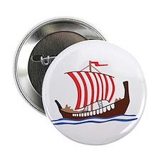"VIKING LONG SHIP 2.25"" Button (10 pack)"