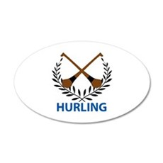 HURLING CREST Wall Decal