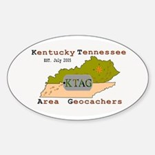 KTAG Oval Decal