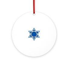 STAR OF DAVID Ornament (Round)