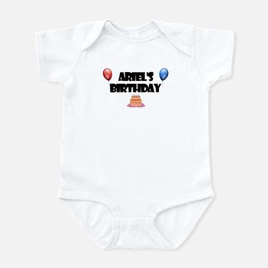 Ariel's Birthday Infant Bodysuit