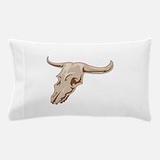 STEER SKULL Pillow Case