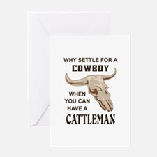 COWBOY OR CATTLEMAN Greeting Cards