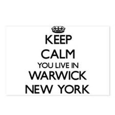 Keep calm you live in War Postcards (Package of 8)