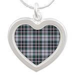 Tartan - Craig Silver Heart Necklace