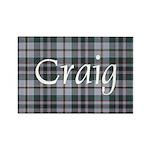 Tartan - Craig Rectangle Magnet