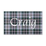 Tartan - Craig 20x12 Wall Decal
