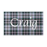 Tartan - Craig 35x21 Wall Decal