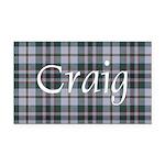 Tartan - Craig Rectangle Car Magnet
