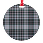 Tartan - Craig Round Ornament