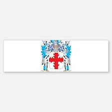 Vavrin Coat of Arms - Family Crest Bumper Bumper Bumper Sticker