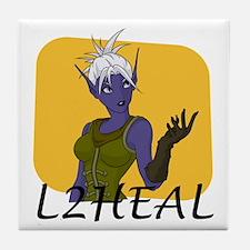 Lesca's L2Heal Tile Coaster