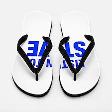 LISTEN TO STEVE-Hel blue 400 Flip Flops