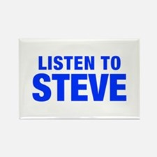 LISTEN TO STEVE-Hel blue 400 Magnets